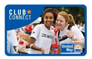 United Way Club Connect Logo