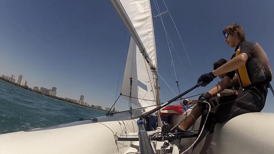 GoPro tiller mount