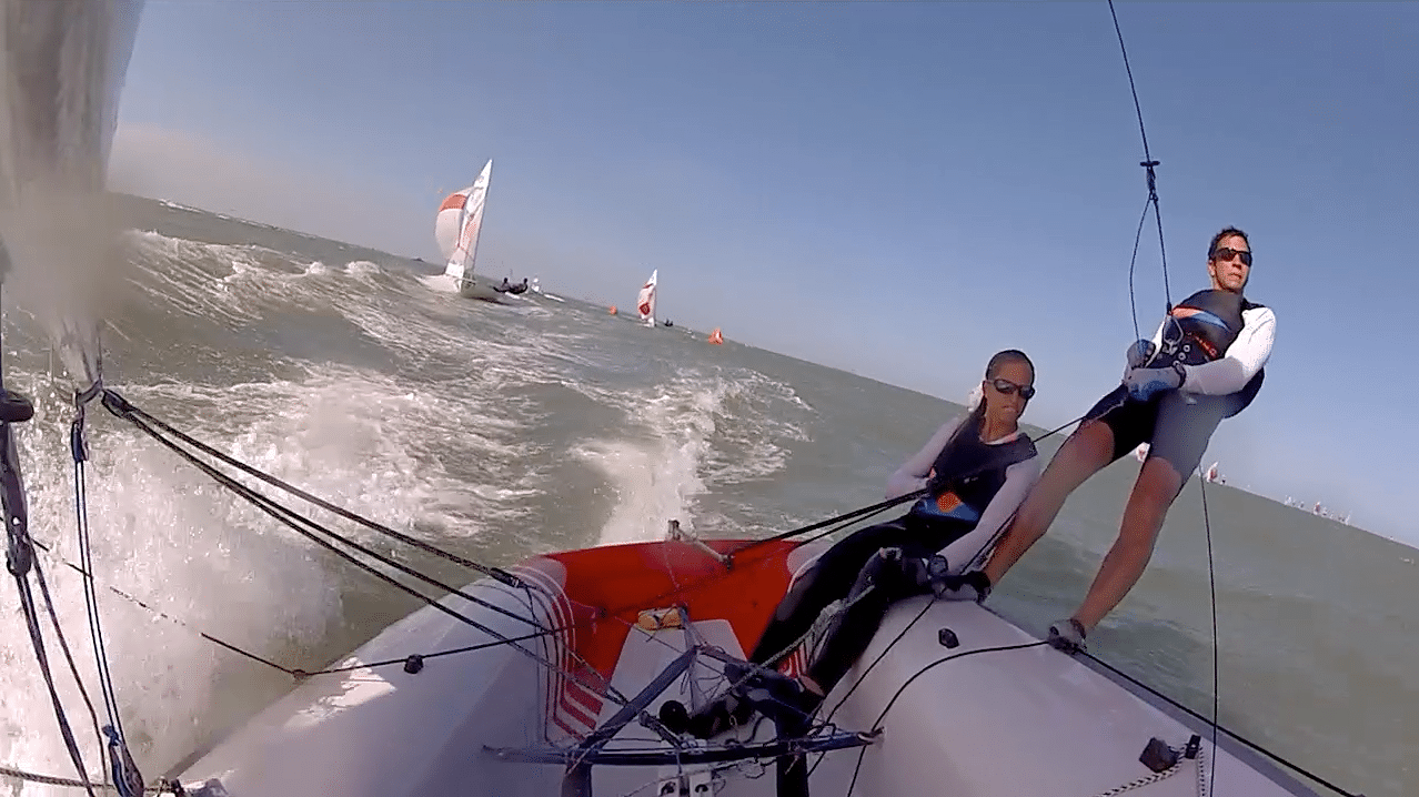 Where to put a GoPro on your dinghy while sailing – Chris Love
